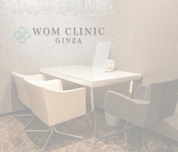 『WOM CLINIC GINZA』院内