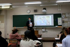 『命の授業「美容外科のメリット・デメリット」を、都立高校で行いました』の画像